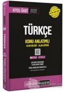 2022 KPSS-ÖABT Türkçe Konu Anlatımlı Alan Bilgisi - Alan Eğitimi