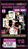 Spor Hobi - İngilizce Resimli Kelime Kartları 11