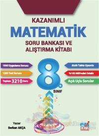 2017 8. Sınıf Kazanımlı Matematik Soru Bankası ve Alıştırma Kitabı