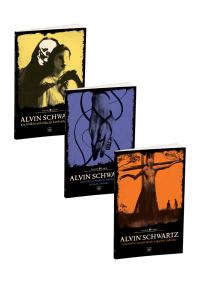 Alvin Schwartz Korkunç Öyküler 3 Kitap Takım