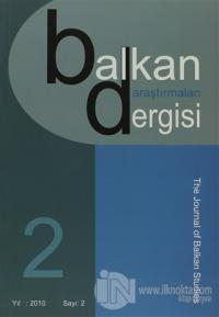 Balkan Araştırmaları Dergisi Cilt: 2 Sayı: 2 %15 indirimli Kolektif