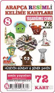 Yaşadığımız Çevre - Arapça Resimli Kelime Kartları 8 72 Kart