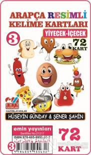 Yiyecek İçecek - Arapça Resimli Kelime Kartları 3 72 Kart